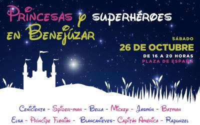 Los súperheroes y princesas más famosos del cine visitarán Expocomercio