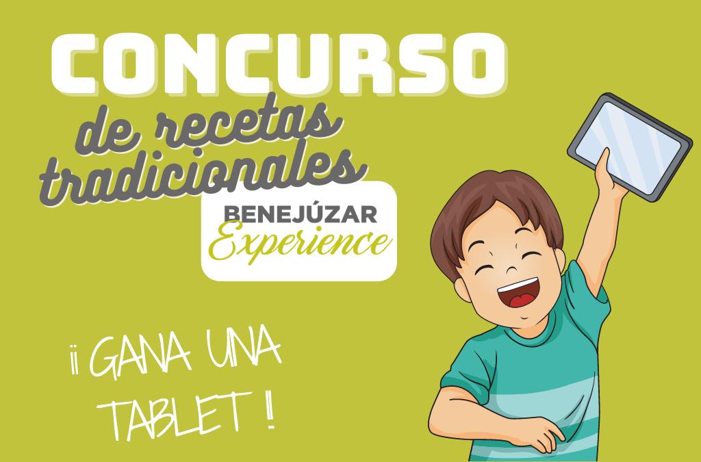 Convocamos un concurso de recetas ilustradas en la quinta edición de Benejúzar Experience