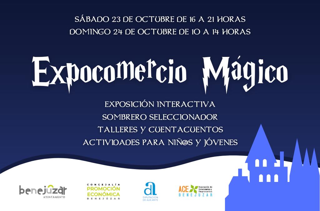 Expocomercio Mágico llenará de hechizos y diversión la Plaza de España de Benejúzar